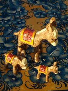 Three donkeys my oldest son found in the vastness of the Internet
